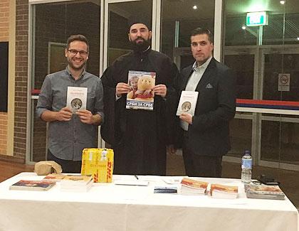 Хумана промоција књиге у Аустралији