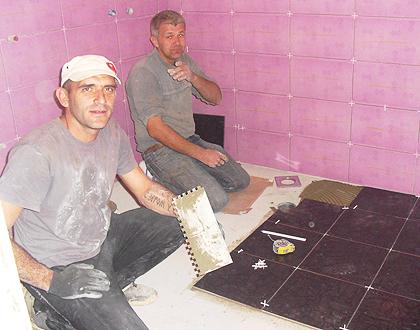 Завршни радови код Пудара у Мостару