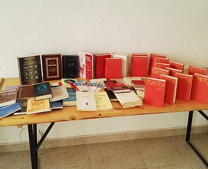 Књиге за библиотеку у Пребиловцима