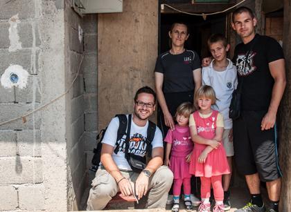 СЗС посетили Лазовиће на Космету