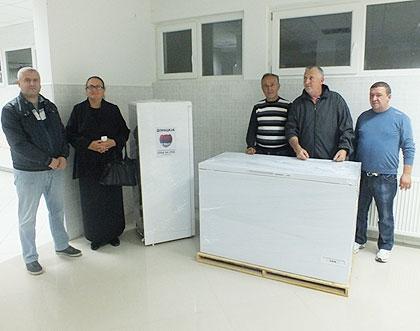 Помоћ болници у Пасјану на Космету