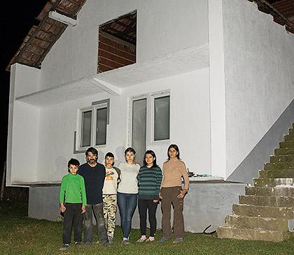 Ристићима обновљен породични дом