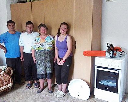 Помогнута породица Трајковић са КиМ
