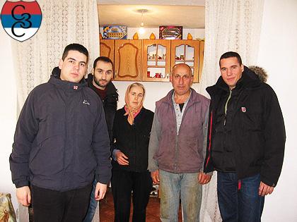 СЗС Божићна акција на Космету