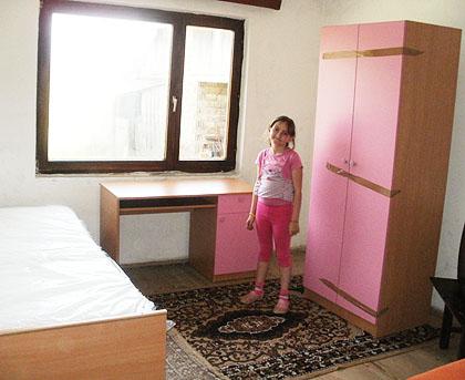 Соба за малу Косовку из Крајине