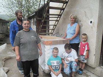 Помоћ поплављенима у Крајини