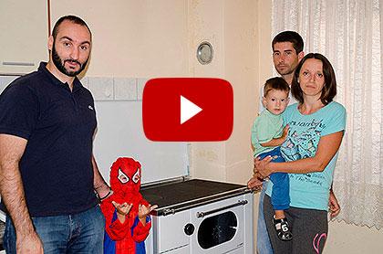 Видео: Испорука помоћи у Крајини