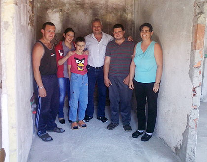 Радови на кући Баљака у Крајини