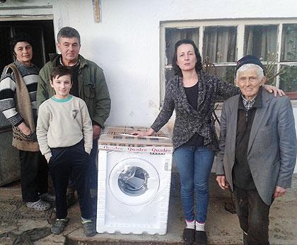 Помогнута породица Дрча из Крајине