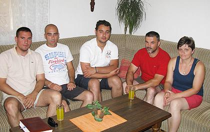 Са Жељком и Оливером Шупут