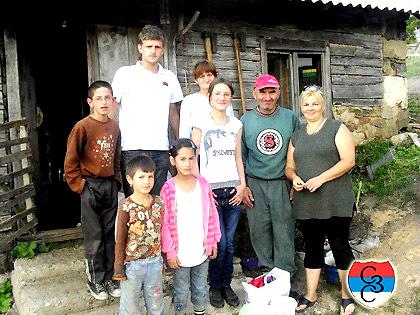 Изградња куће Баловићима