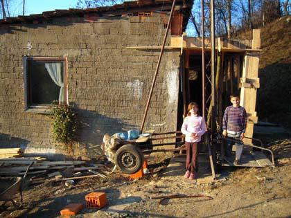 Доградња куће породици Ћетковић