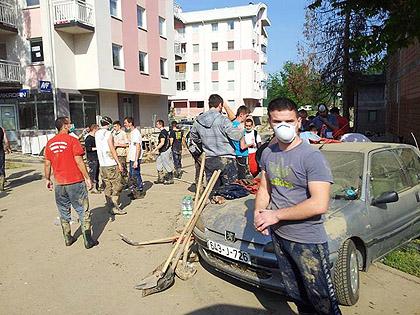 СЗС доставили велику помоћ у Добој