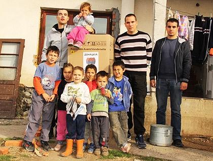 СЗС помогли поплављенима у Бијељини