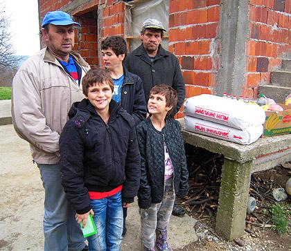 Радови на кући Теодоровића у Српској