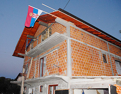 Кров на кући Милојевића из Бања Луке