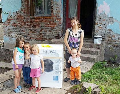 Помоћ породици Окиљ у Р. Српској
