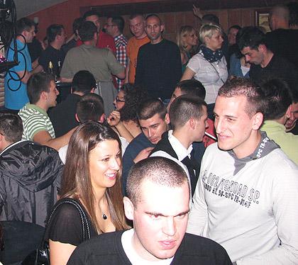 Успешна велика СЗС журка у Скадарлији