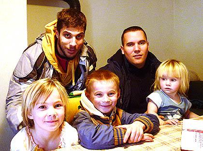 Посета породици Мијатовић код Шапца