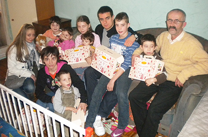 Божићна акција и у дому Стаменковић