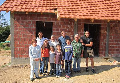 СЗС у посети породици Баловић
