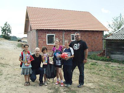 СЗС у посети породицама у Рашкој