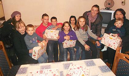 Божићна СЗС акција у Војводини