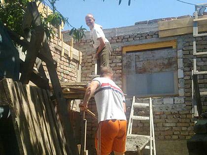 У току је изградња куће Вулићима