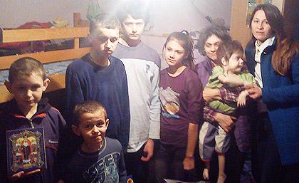Посета Љиљковима и Милутиновићима