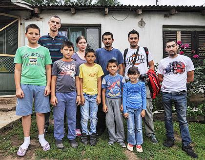 У посети Стевановићима из Горачића