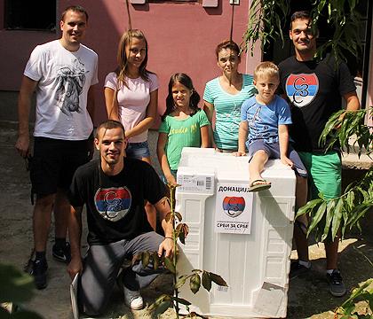 СЗС помогли поплављенима у Ваљеву