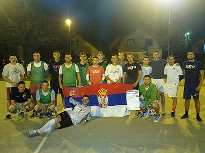 Хуманитарни турнир у Шапцу за СЗС