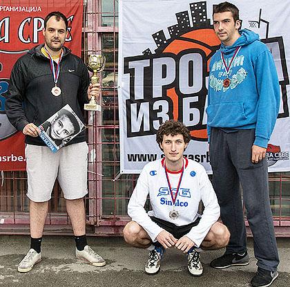Тиосављевић најбољи тројкаш из блока