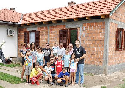Дограђена кућа Ђурићима у Лаћарку