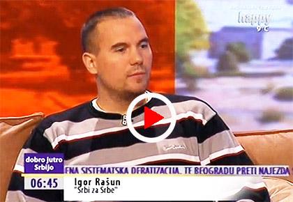 СРБИ ЗА СРБЕ гости на ТВ Happy