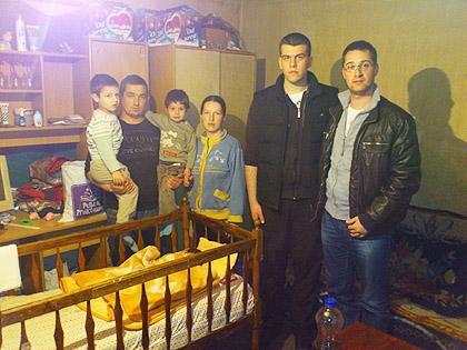 СЗС у посети породици Миленковић