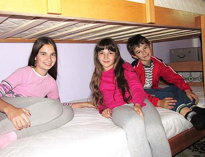 Кревети на спрат за мале Мандиће
