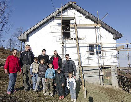 Вуковићи усељени у нову кућу пре зиме