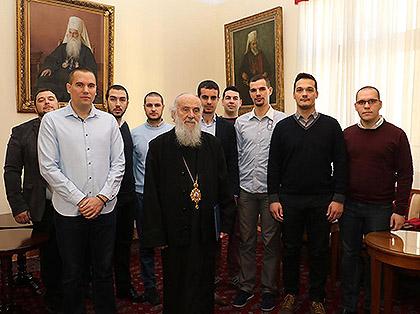 СЗС посетили Патријарха Иринеја