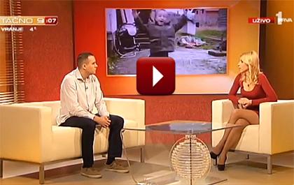 Срби за Србе на ТВ Прва - Тачно 9