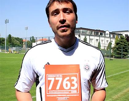 Живко Живковић шаље СМС на 7763