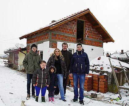 Дограђен дом за породицу Бошковић