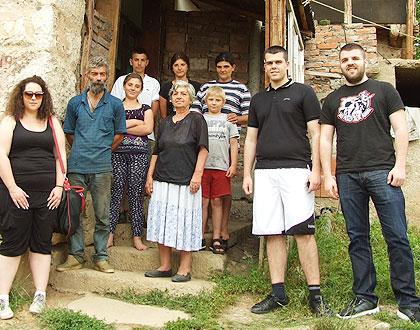 СЗС посетили Јуришиће код Пирота