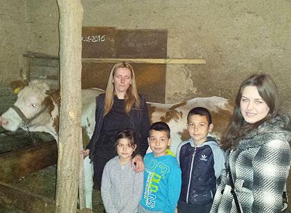 Божићна акција и у околини Лесковца