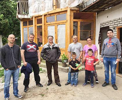СЗС у посети Ђикићима близу Руме