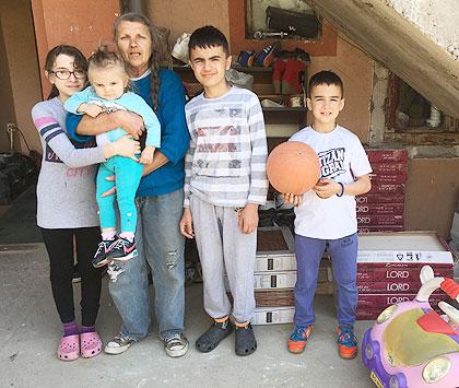 СЗС посетили породицу Илић у Земуну