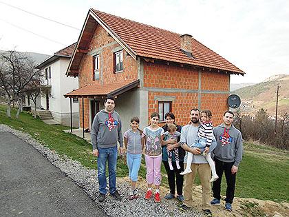 У посети Мандићима у Пријепољу
