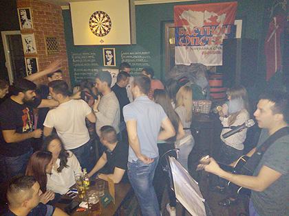 Прва хуманитарна журка у Београду
