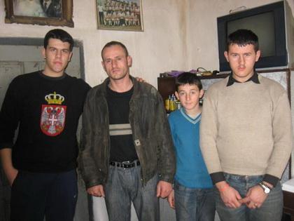 СЗС у посети породици Судимац