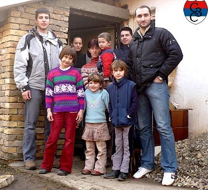 СЗС у посети породици Мајор